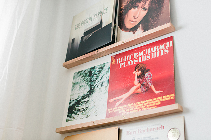 Diy Vinyl Records Shelf Display Dream Green Diy