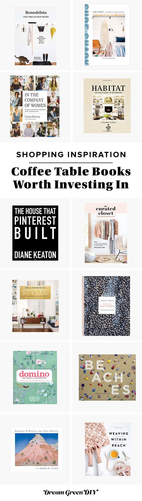 Coffee Table Books Worth Investing In