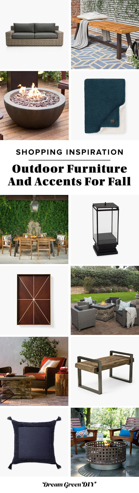 Outdoor Fall Furniture & Accessories