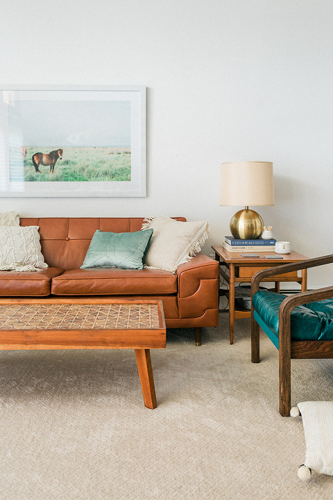 A Mini Fall Living Room Update