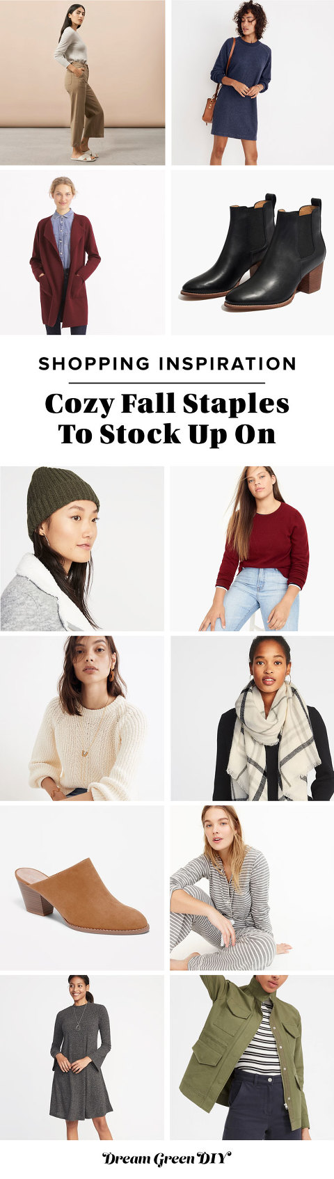Cozy Fall Staples To Stock Up On