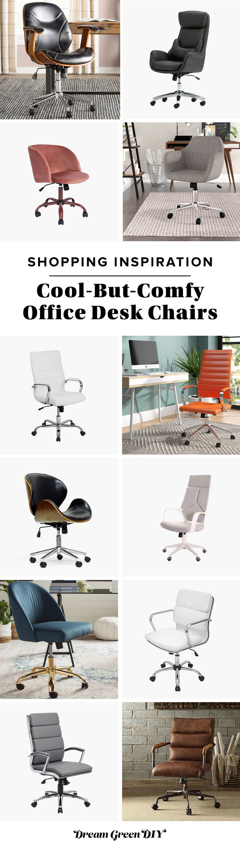 12 Cool-But-Comfy Office Desk Chairs