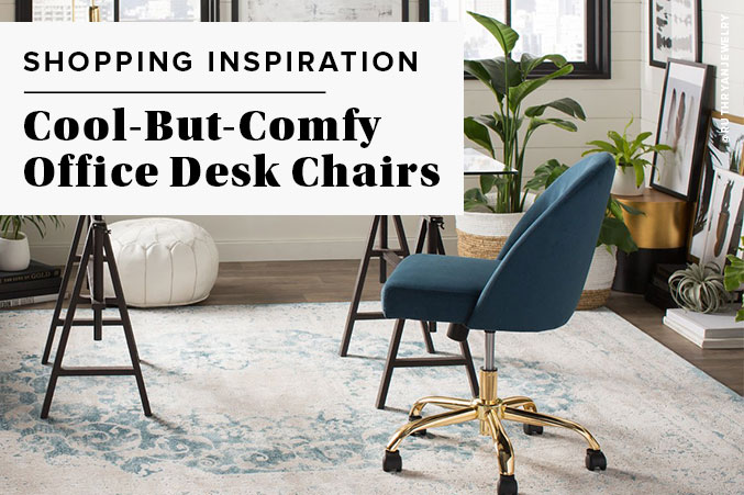 12 Cool But Comfy Office Desk Chairs
