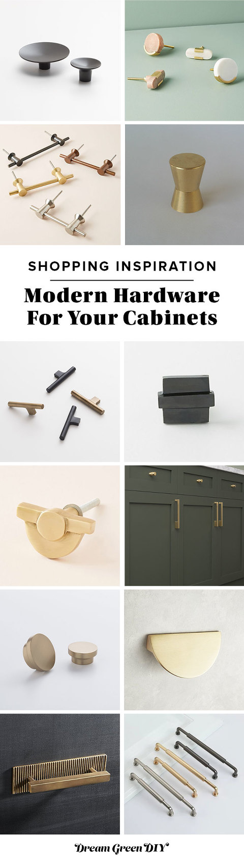 Modern Hardware For Your Cabinets