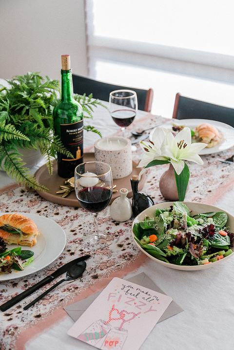 Valentine's Day Dinner For Two At Home