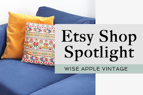 Etsy Spotlight: Wise Apple Vintage