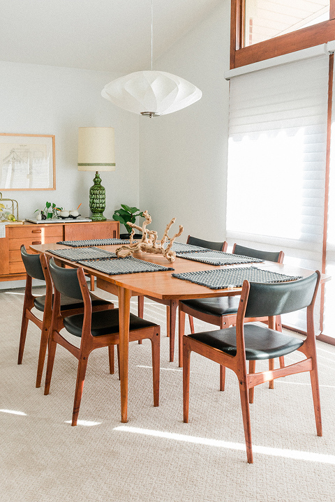 Secondhand Score: Mid-century Dining Chairs - Dream Green DIY