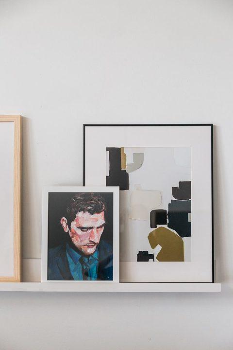 A Sneak Peek Of Our Revamped Living Room | dreamgreendiy.com + @article #ad #svensofa #ourarticle
