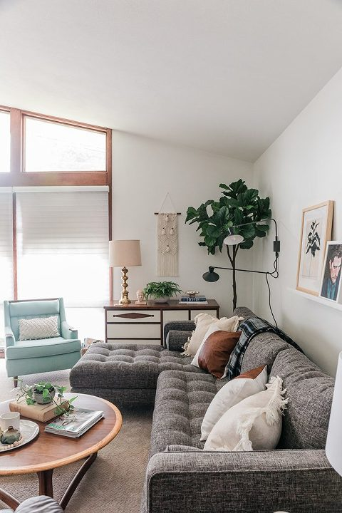 Peachy Article Sven Sectional Couch Review Dream Green Diy Creativecarmelina Interior Chair Design Creativecarmelinacom