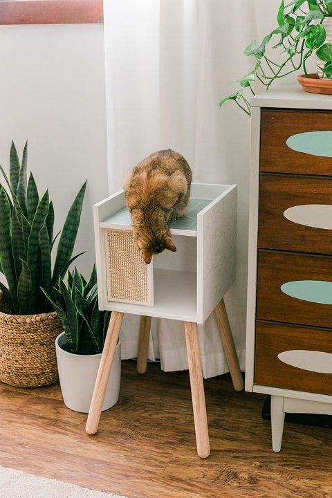 How to Upgrade The IKEA Lurvig Cat House