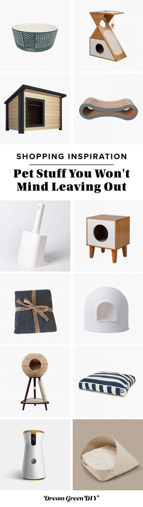 Pet Stuff You Won't Mind Leaving Out