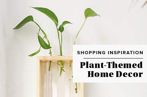 Plant-Themed Home Decor Roundup