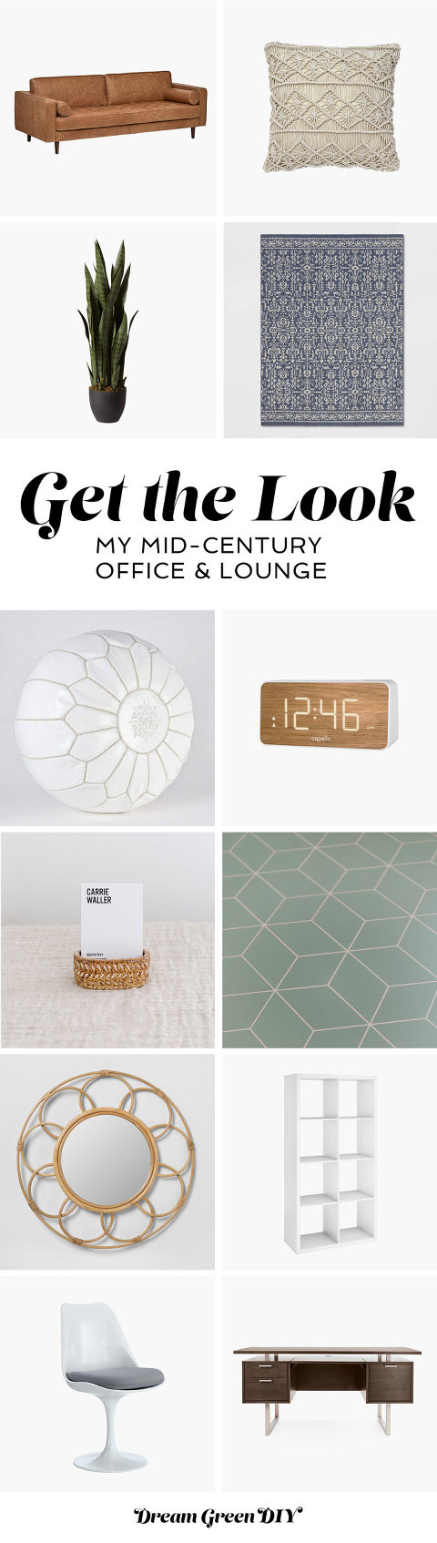 Get The Look Of My Mid-Century Office