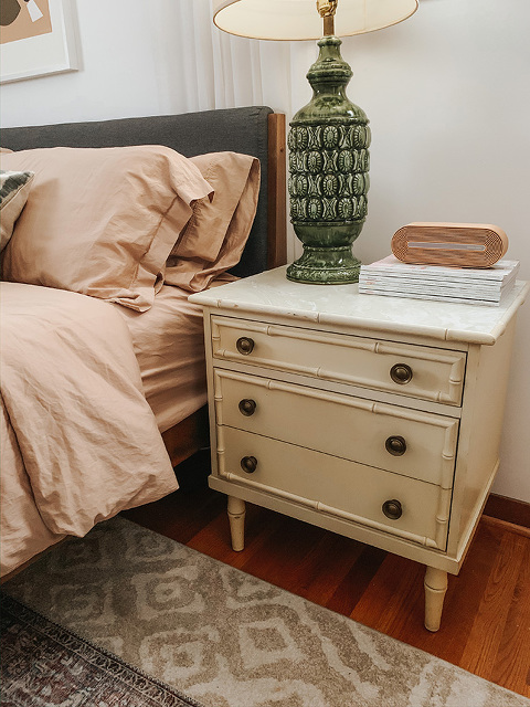 Secondhand Score: Bamboo Nightstands