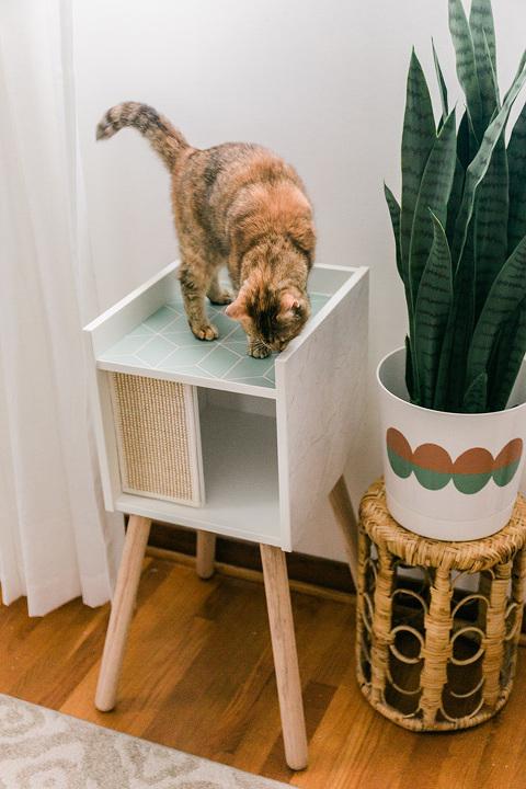 DIY Ikea Cat House Makeover