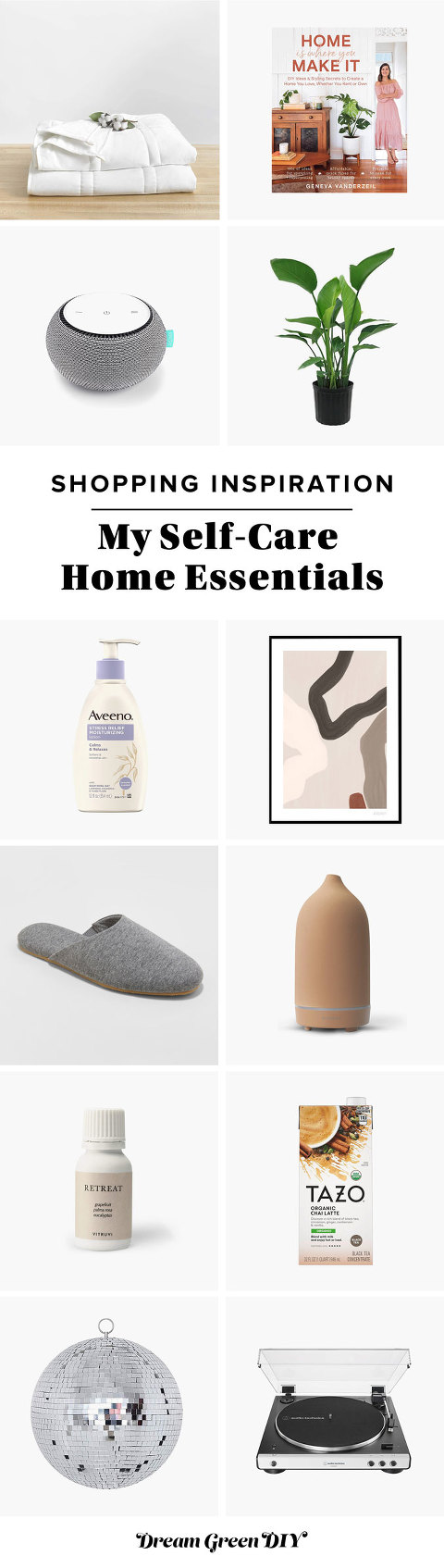 My Self-Care Home Essentials