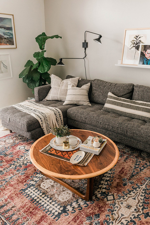 How To Style A Vintage Mini Rug