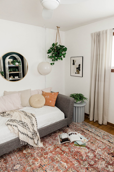 DIY Look-A-Like Ribbed Side Table