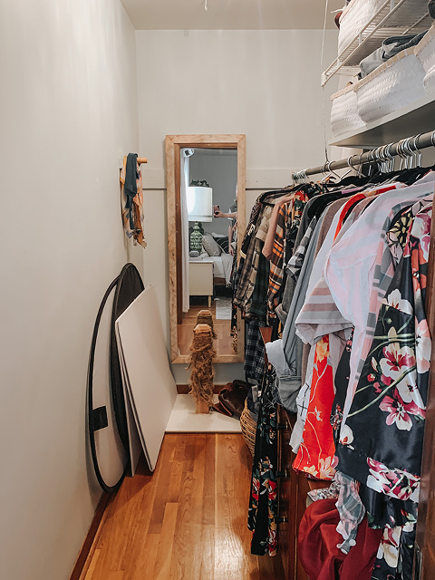 How I DIYed My Own Closet Organizer