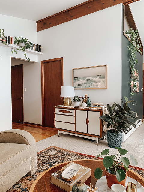 Frame TV in Living Room