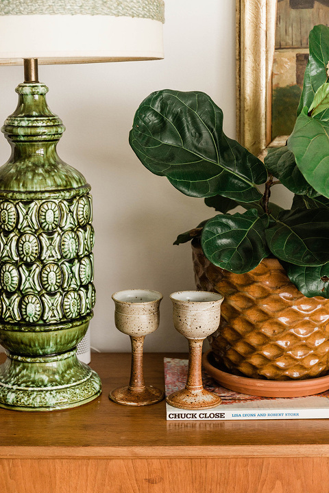 Why We Downsized Our Dining Room Décor | dreamgreendiy.com + @allmodern #ad