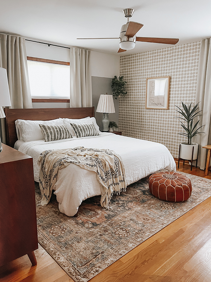 How To Plan A Bedroom Makeover | dreamgreendiy.com + @LoloiRugs #gifted
